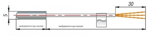 Термопреобразователь сопротивления ДТС014-50М.В3.20/2 Овен