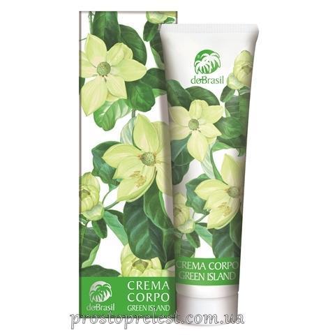 Dobrasil crema corpo «green island»-Парфюмированный крем для тела «Зеленый остров»