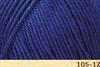 Пряжа Fibranatura Luxor 105-12 (Синий)