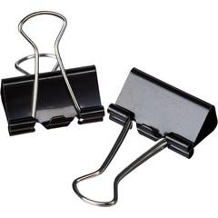 Зажимы для бумаг Attache 25 мм черные (10 штук в пакете)