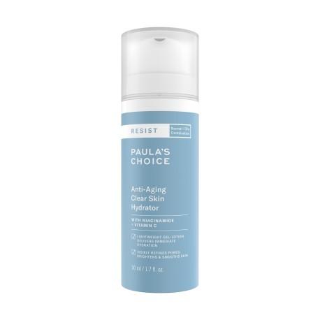 Крем Paula's choice Resist Anti-aging clear skin hydrator 50мл для зрелой жирной и комби кожи