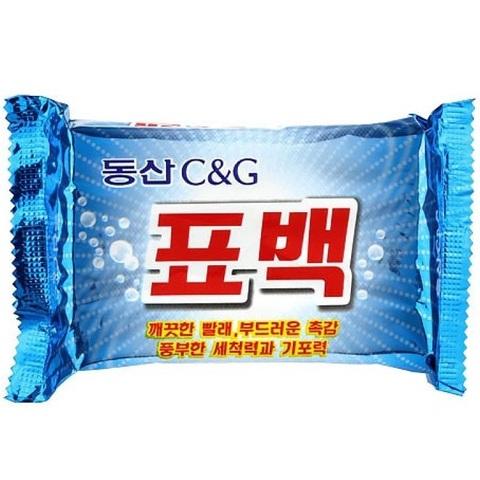 Мыло хозяйственное Clio New Dongsan Soap Bleaching c природными маслам 450 гр