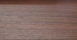 Плинтус шпон С11 Орех Темный DL Profiles-Италия (75 мм*16 мм*2400 мм)