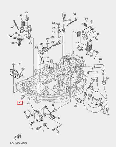 Заглушка для лодочного мотора F20 Sea-PRO (12-41)