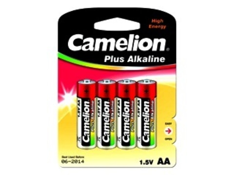 Э/п Camelion LR6 Plus Alkaline BL4   48/576