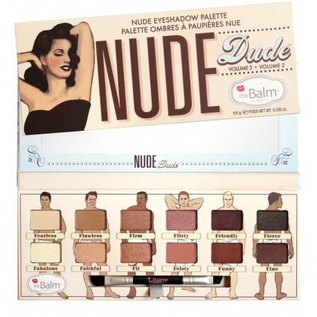 Палетка теней The Balm Nude Dude
