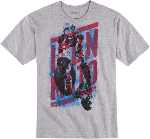 Icon Blox серая футболка