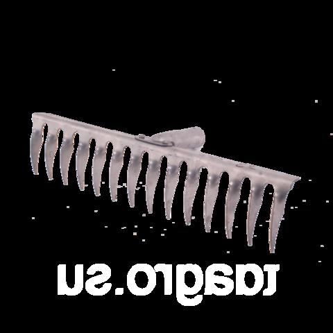 Грабли 14-ти зубые витые нерж.б/ч