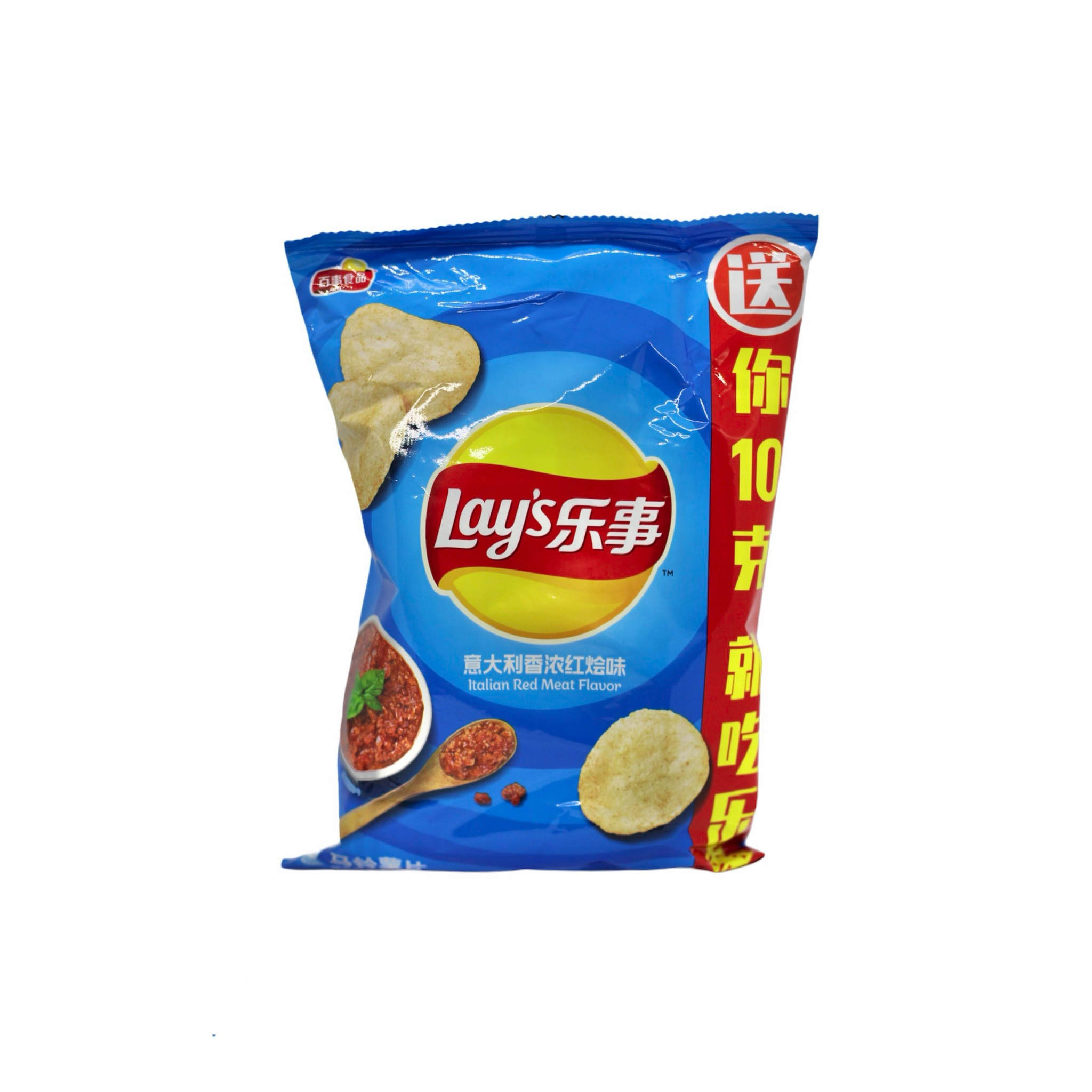 Чипсы Lay's Italian Red meat flavor 70гр