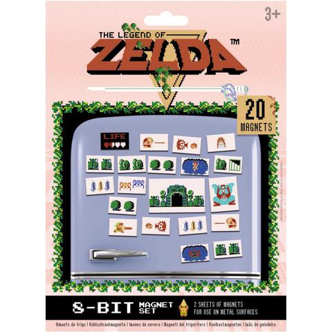 Набор магнитов The Legend of Zelda - Retro