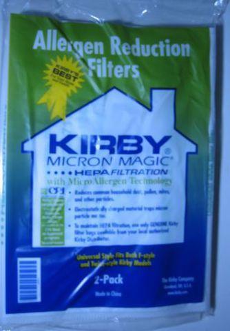 Антикризис! Мешки для Кирби Универсальные (ткань 2 шт) Kirby Micron Magic Hepa Allergen