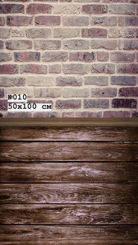 Фотофон виниловый «Темный пол» №010