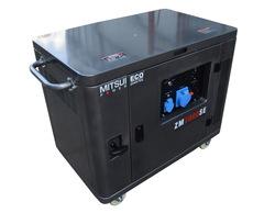 Готовый комплект аварийного питания на 5,5 кВт бензиновый генератор ZM 7000 SE в кожухе с АВР (блоком автоматического ввода резерва)