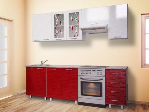 Кухня МАРТА 2,2 вертикальный шкаф