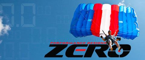 Основной парашют Zero