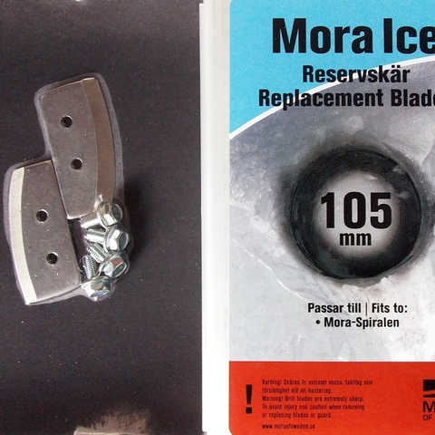 Запасные ножи для ледобуров Mora Spiralen 105 мм
