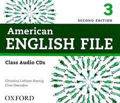 AM ENGLISH FILE  2ED 3 CL CD(4)  2014