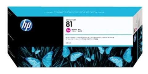 Картридж струйный HP C4932A 81 пурпурный
