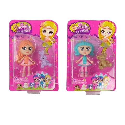 Куклы в наборе коллекционная с питомцами № 2, 1кор*45бл*8шт