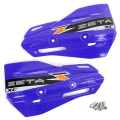 Лопухи для защиты рук Zeta XC, синие, ZE72-3104