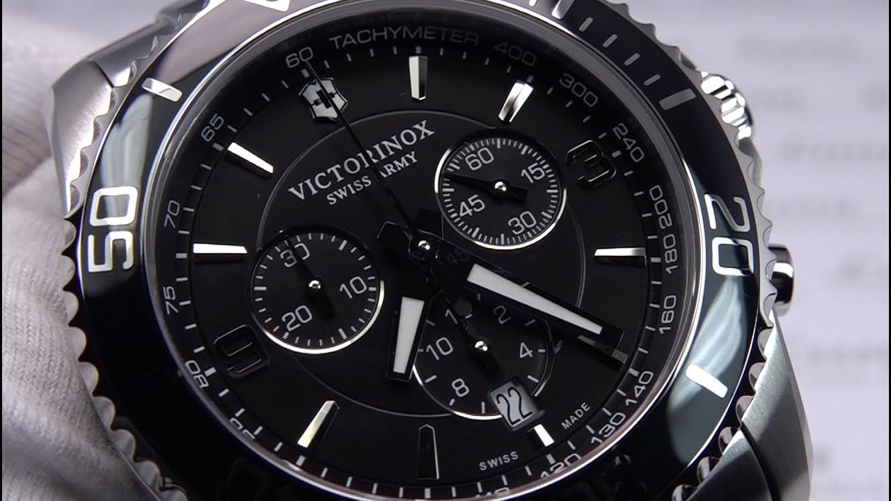 Мужские часы Victorinox Maverick Chronograph 241695