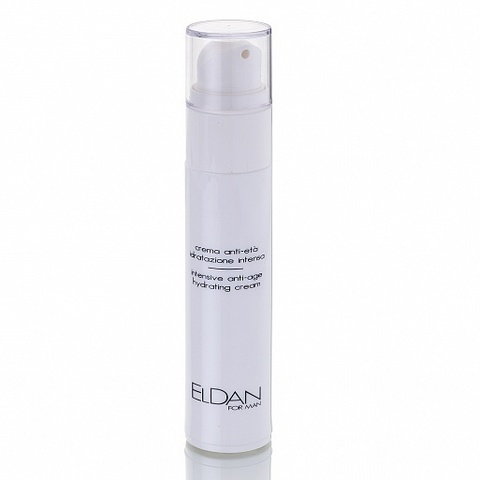 Eldan Intensive Anti age hydrating cream, Anti-age крем 24 часа For man, 50 мл.
