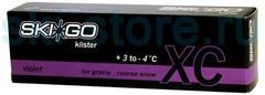 Клистер SkiGo XC Klister Violet +3/-4, 60 г