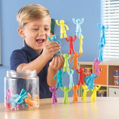 Набор фигурок Разноцветные строители, 32 шт. Learning Resources