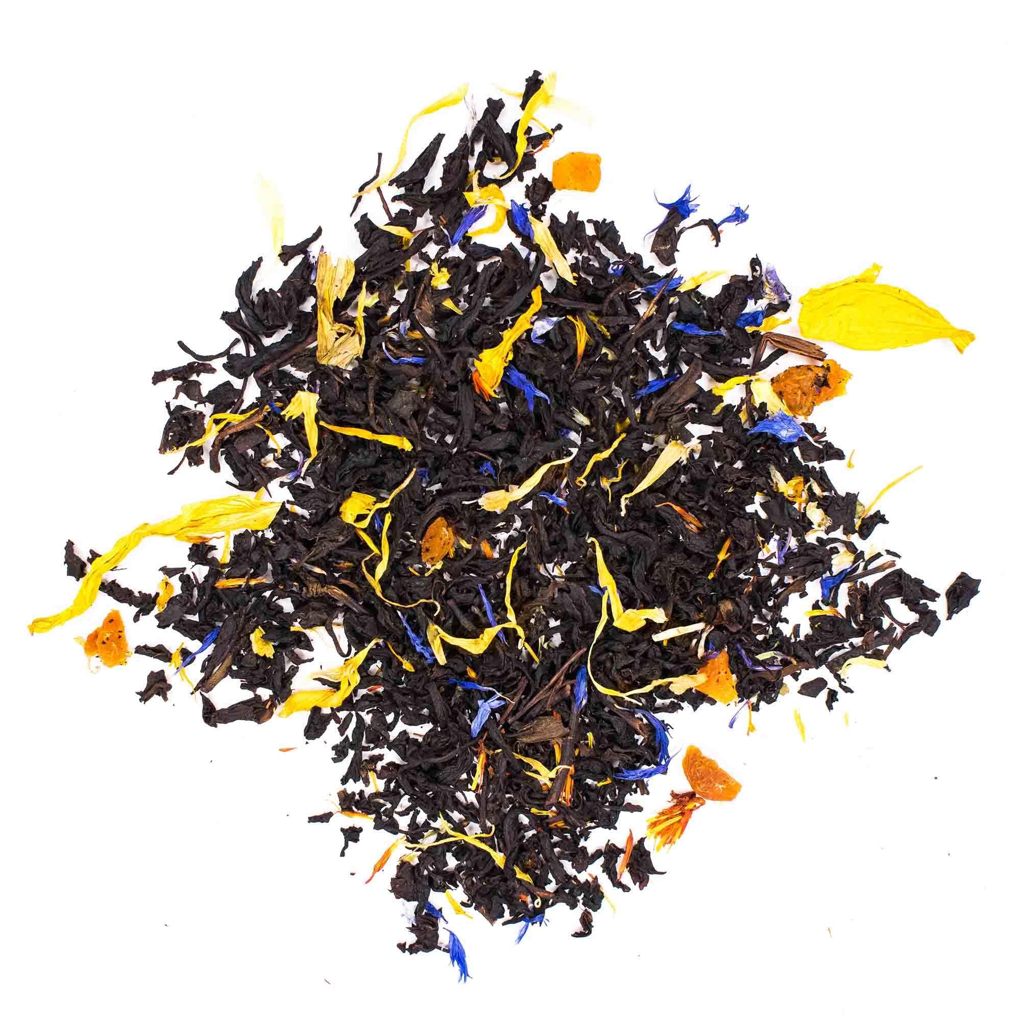 Черный чай Тропический взрыв, черный чай с добавками, 100гр chaycherniisousep-teastar.jpg.jpg