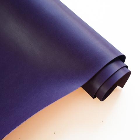 Кожзам переплетный матовый, темно-фиолетовый