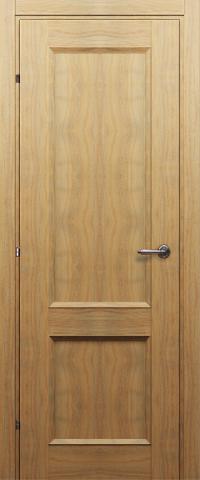 Дверь Краснодеревщик ДГ 3323, цвет орех бискотто, глухая