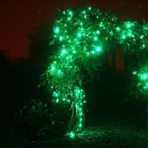 уличная светодиодная нить каучук для дерево