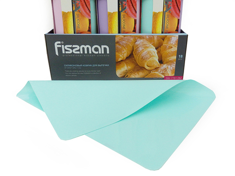 7781 FISSMAN Коврик для выпечки 37,5x27,5x0,1 см,  купить
