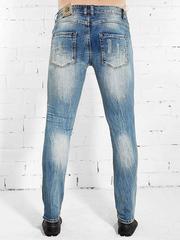 WH009 джинсы мужские, синие