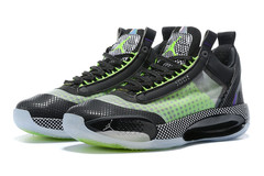 Air Jordan 34 Low 'Black/Green/White'