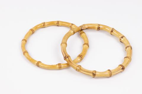 Бамбуковые ручки для сумки круглые 13 см.