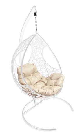 Кресло подвесное Ferrol white/beige