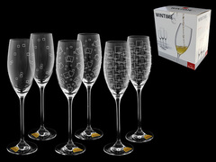 Набор бокалов для шампанского «Wintime», «Гранд микс», фото 4