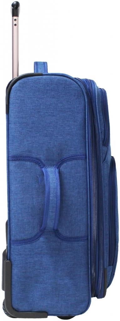 Чемодан Bagland Леон средний 51 л. Синий (003766924)