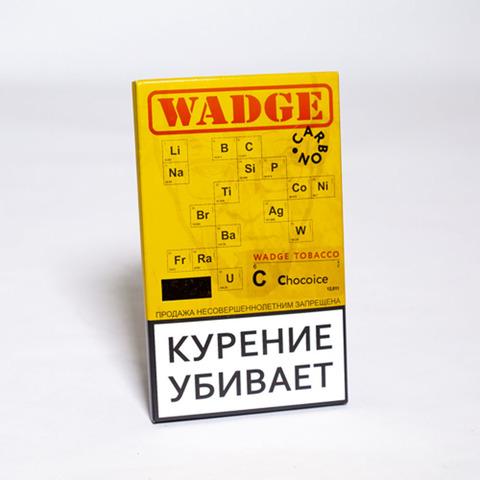 Табак WADGE CARBON 100gr CHOCO ICE
