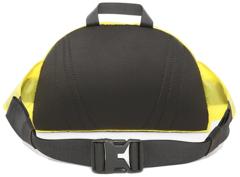 Сумка поясная North Face Flyweight Lumbar Lemon - 2