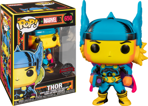 Thor Marvel: Black Light Special Edition Funko Pop! || Тор