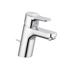 Смеситель для раковины однорычажный c донным клапаном Kludi Pure&Easy 373820565 фото
