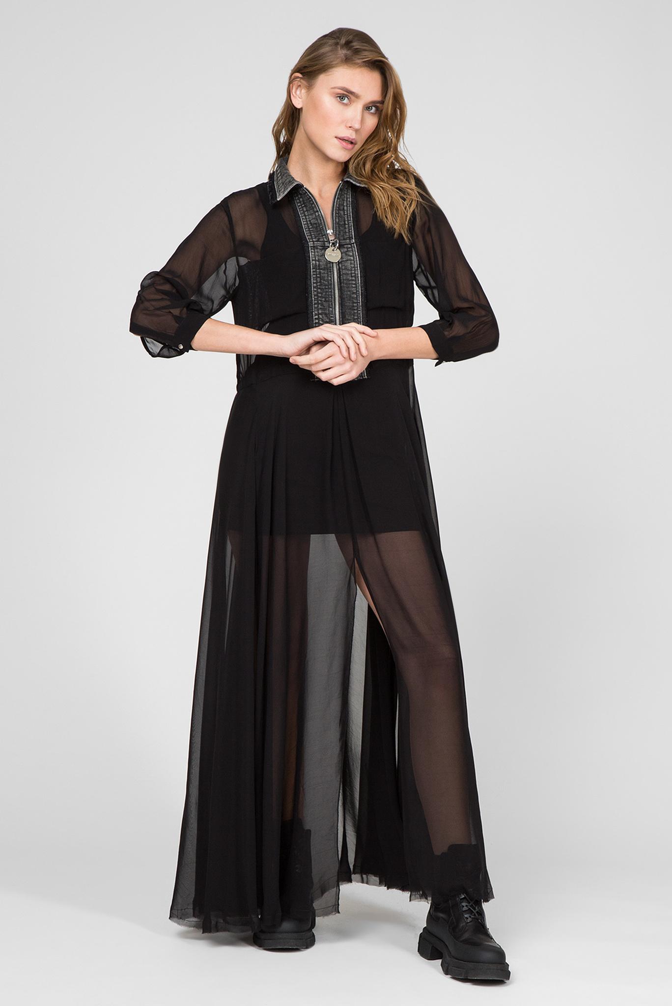 Женское черное платье D-RAHAN-A Diesel