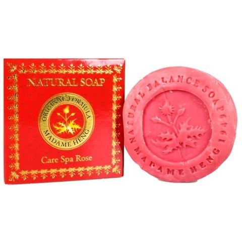 Спа-мыло c натуральным маслом розы Мадам Хенг Madame Heng 150гр.