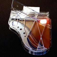 Акустические рояли Kawai CR-40 Transparency