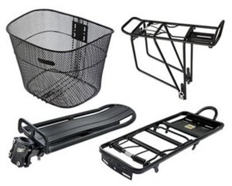 Купить багажники, корзинки для велосипедов