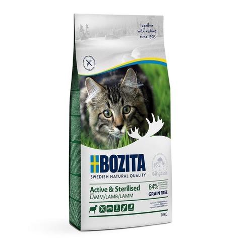 Bozita Active & Sterilized Grain Free Lamb Сухой корм для активных стерилизованных кошек с ягненком (беззерновой)