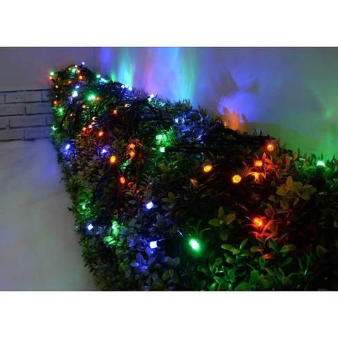 купить гирлянды новогодние оптом на деревья кусты дом забор столы парки оптом каучук нить led