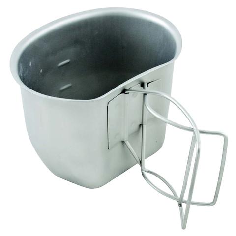 BCB Campingbecher Crusader Cup Canteen silber